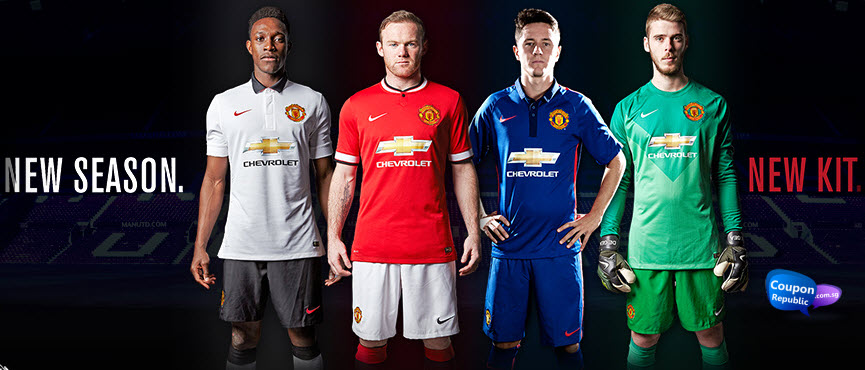 new product 42847 f50f3 Manchester United Store | New Jersey 2014 / 2015 : 10% OFF
