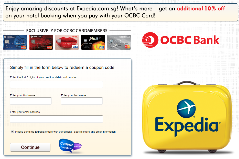 Expedia in coupons
